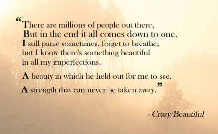 Quote Crazy Beautiful
