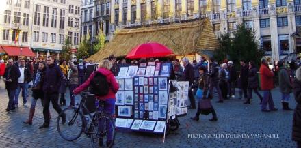 Kerst markt Brussel