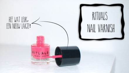 Rituals blog nail varnish