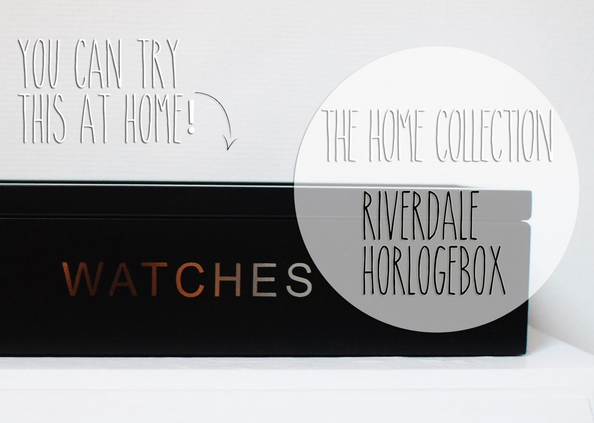 The Home Collection | Riverdale Horlogebox