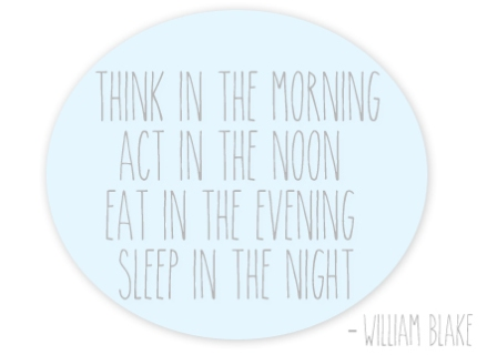 Sleep quote William Blake