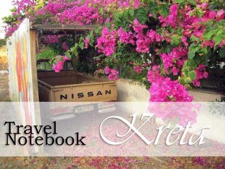 Kreta Blog Travel Notebook