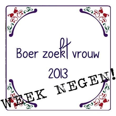 week 9 boer zoekt vrouw 2013-2014