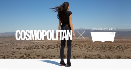 cosmopolitan X Levi's Revel Night