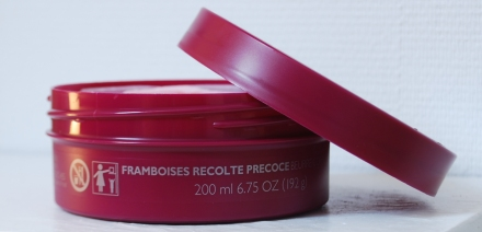 Rasberry body butter TBS review