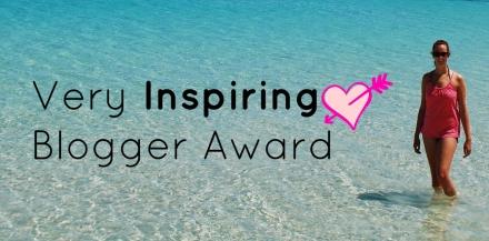 Very Inspiring Blogger Award uitgelicht