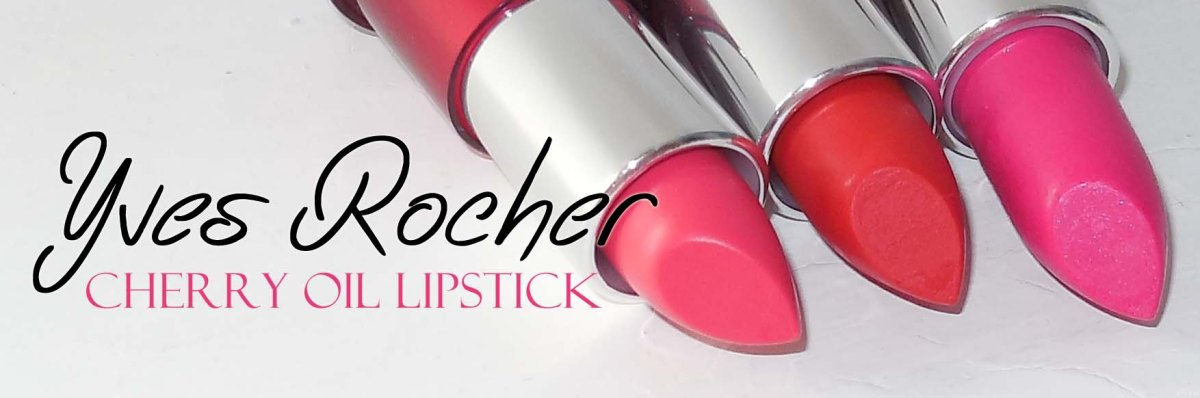 Review | Yves Rocher Cherry oil lipstick